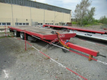 Fliegl flatbed trailer