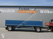 Fellechner 2 Achs Drehschemel, Luft, SAF trailer used dropside flatbed
