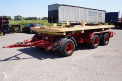 Drawbar trailer trailer used flatbed
