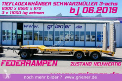 Schwarzmüller G SERIE/ TIEFLADER / RAMPEN /BAGGER 6320 kg trailer used heavy equipment transport