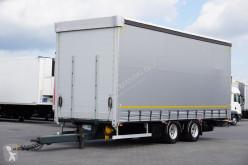 Tandem KONAR - / FIRANKA / DMC 18 000 KG / DŁ. 7,75M trailer