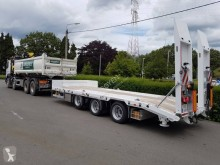 Royen heavy equipment transport trailer X-Way porte engins tridem