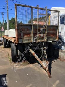 Reboque Schmitz Cargobull AKO estrado / caixa aberta usado