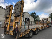 Used heavy equipment transport trailer Kaiser