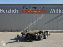 Hüffermann flatbed trailer