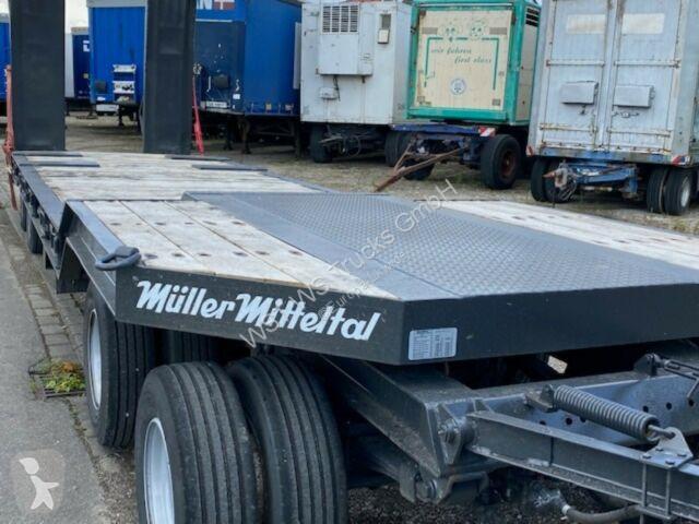 Voir les photos Remorque Müller-Mitteltal Müller-Mitteltal T40 Tieflader Hydraulikrampe