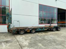 Müller-Mitteltal 4 Achs Tieflader- Anhänger + Radmulden trailer