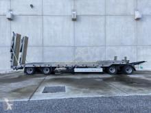 remorque Möslein 4 Achs Tieflader- Anhänger 2 teiligen hydr. Ram
