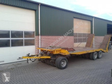 Used heavy equipment transport trailer Dieplader