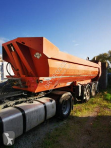 Marrel half-pipe trailer BENNE ORANGE 39T