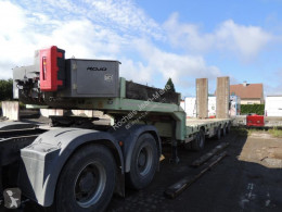 Rojo Trailer PORTE ENGIN trailer used heavy equipment transport