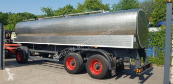 Remolque Remorque Schmitz Cargobull ET 24 Wassertank 3 Kammern Edelstahl 22000 L Tan