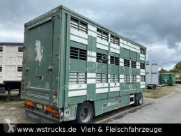 Remorca remorcă transport animale Michieletto 3 Stock Hubdach Vollalu