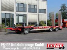 Müller-Mitteltal 3-Achs-Tiefladeanhänger trailer used