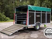 Remorque bétaillère nc CYNKOMET Viehanhänger-Viehwagen T-677 KURIER 6 EU-Zulassung