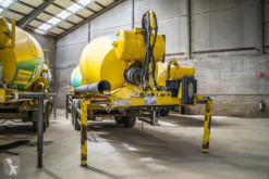 Stetter BETON MIXER - 10 M³ semi-trailer used concrete mixer concrete