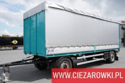 Remorca Krone TL , FOR STEEL TRANSPORT , BPW , 7,35x2,5x2,2m obloane laterale suple culisante (plsc) second-hand