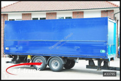 Remolque Krone ZZ 18, Ewers Schwenkwand, LBW Bär 2500kg, ALU caja abierta transporte de bebidas usado