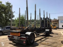 Draco AXS 220 trailer used timber