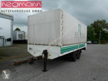 Reboque caixa aberta com lona nc 10to Zentalachsanhänger, NL6770 kg, Luft, DE