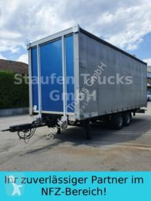Spier tarp trailer Tandem Pritsche/ Schiebe Plane luftgefedert