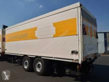 Remolque caja abierta transporte de bebidas Schmitz Cargobull ZFPR18 2 Achsen Getränkekoffer+LBW Schwenkwand