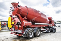 Semitrailer betong blandare Liebherr LIEBHERR-BETON MIXER 12 M3+ Hulpmotor