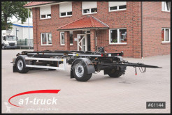 Hüffermann heavy equipment transport trailer