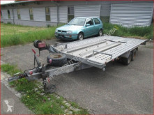 Heavy equipment transport trailer L-AT 400 T-K L-AT 400 T-K Autotransportanhänger, Seilwinde