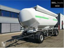 Remolque cisterna Feldbinder Köhler / Futtermittel / 4 Kammern / 30.000 l