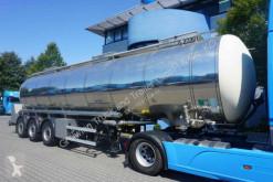 Reboque cisterna alimentar Schrader Tankfahrzeug f. Nahrungs- u. Genussmittel