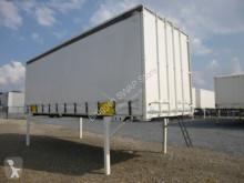 Krone Heck mit Portaltüren gebrauchter Box mit Schiebeplane