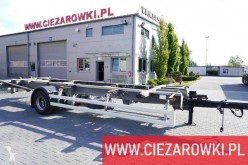 Ackermann Z-EAF 11/7 , BDF , chassis 7,2m , BPW , 2 units trailer used BDF