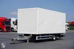 Reboque furgão usado Wecon - TANDEM / KONTENER / ŁAD. 6120 KG / 15 PALET