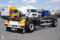 Reboque Schmitz Cargobull - BDF / 2 OSIE / DMC 18 000 KG chassis usado