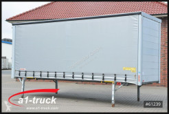 Equipamientos carrocería caja con lona Wecon WPR 7,82 BDF Jumbo verzinkt, Top Zustand