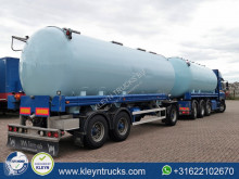 Tanker trailer 34M3 4 COMP silo animal food