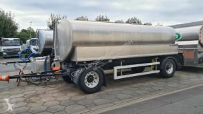 Edelstahltankanhänger - 15.500 Liter - ISOLIERT(Nr. 4708) trailer used food tanker