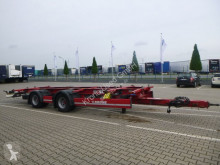 Krone ZZW Box Carrier 18 zLTC3 Box Carrier trailer used chassis