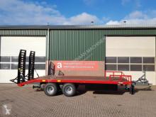 Remolque AGM Oprijwagen 12 ton portamáquinas usado