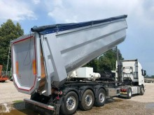 Kempf 52 m3 HARDOX Automatic Doors Vibrator semi-trailer used half-pipe