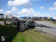Krone Box Carrier AZW 18 eL3B9 trailer used chassis