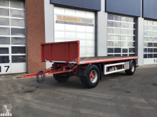 ACV 202 2-assige aanhanger trailer used flatbed