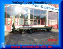 Reboque Müller-Mitteltal 3 Achs Tieflader- Anhänger porta máquinas usado