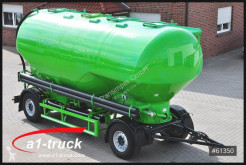 Remorca cisternă transport pulverulent second-hand Feldbinder SDBH 18, Silo Heitling, 4 Ka, 31m³ Futter Feed