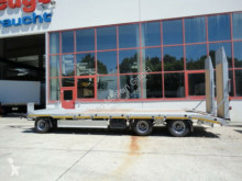 Remorque Möslein 3 Achs Tieflader- Anhänger mit gerader Ladefläc porte engins neuve