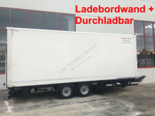 Remolque Möslein Tandem Koffer,Ladebordwand + Durchladbar furgón usado