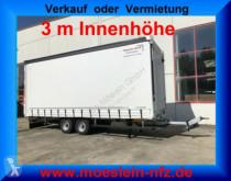 Reboque Möslein Tandem- Schiebeplanenanhänger 3 m Innenhöhe-- F caixa aberta com lona novo