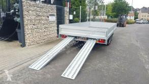 Remolque caja abierta teleros 3 Achsen Hochlader 5m 3500 kg Rampen Alubordwänd