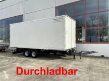 Reboque furgão usado Möslein Tandemkofferanhänger, Durchladbar
